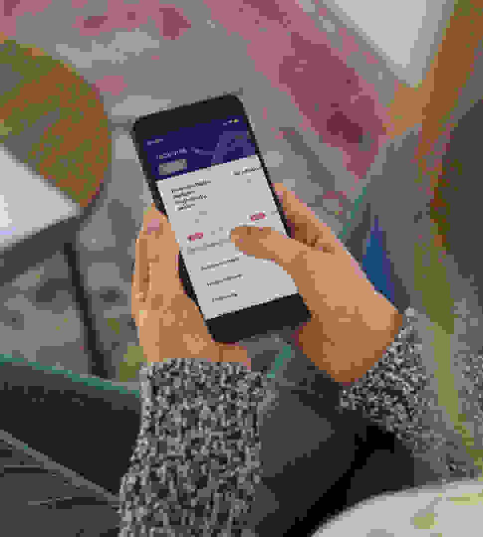freelancer gebruikt My Bright Plus App om administratie te vereenvoudigen