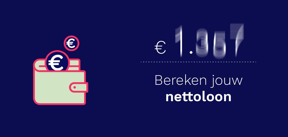 Bereken jouw nettoloon via de Bruto - Netto Calculator van Bright Plus
